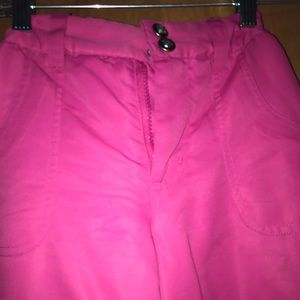 Other - pink winter snow pants
